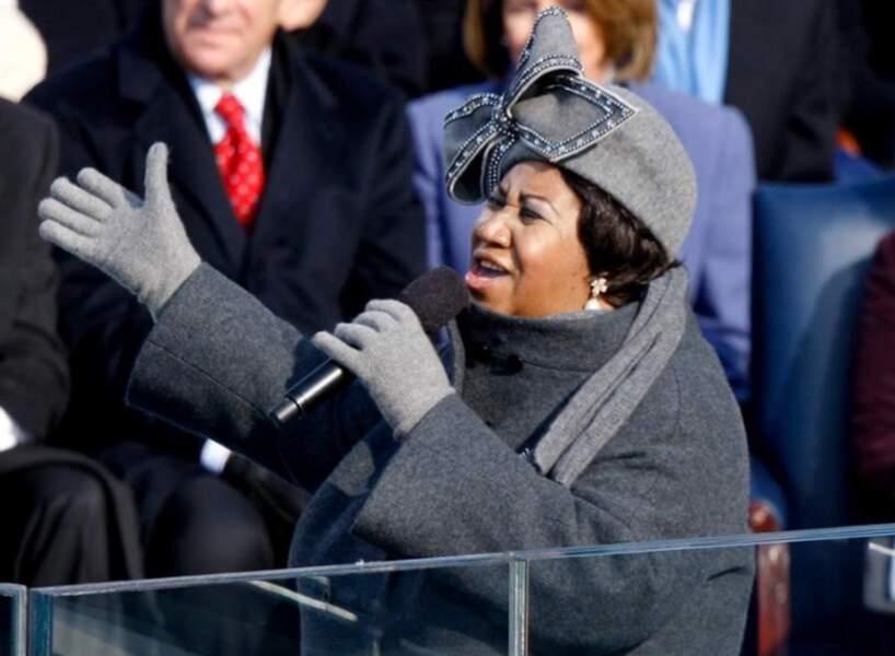 Aretha Franklin, le 16 août