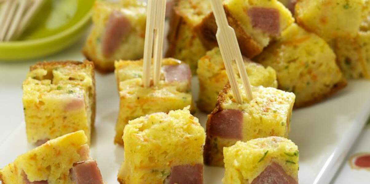Cake carotte lardons