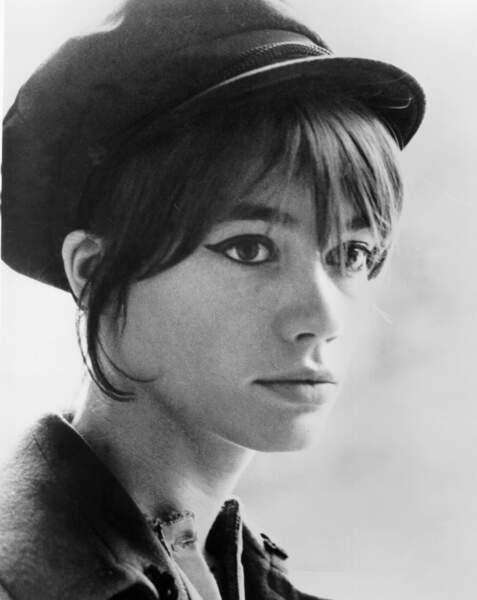 Portrait de Françoise Hardy en 1965.