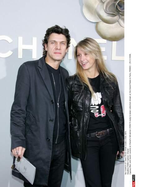 Marc Lavoine et Sarah Poniatowski, 2008