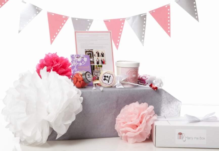 Piochez des idées dans les boîtes à mariage