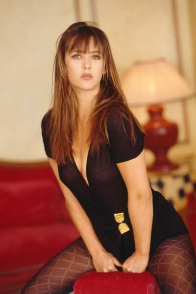 Sophie Marceau en 1990.