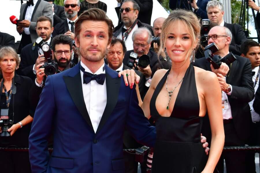 Philippe Lacheau et sa compagne Elodie Fontan au 72ème Festival du Film de Cannes, France, le 21 mai 2019.