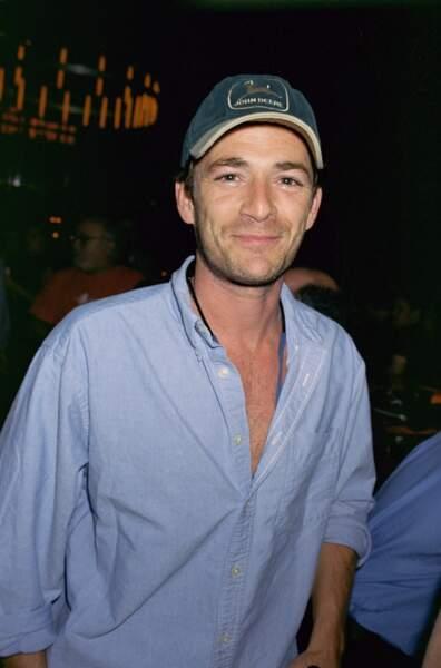 Luke Perry à New York en 2000.
