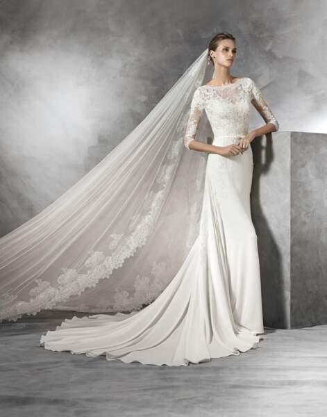 Robe de mariée Pronovias : Tane