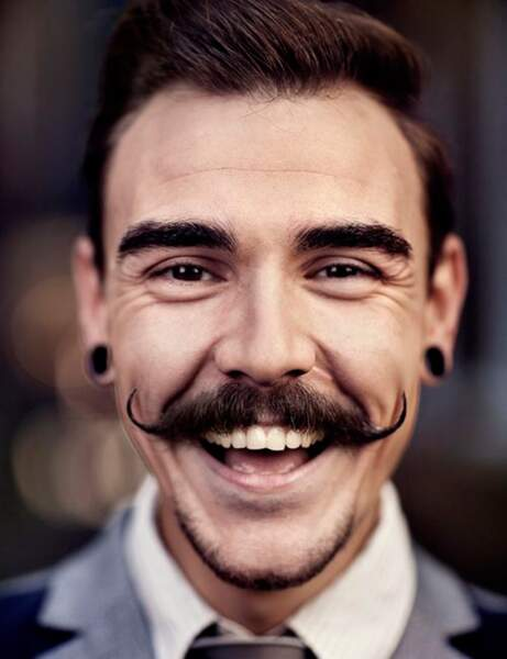 Movember : moustache idée 15