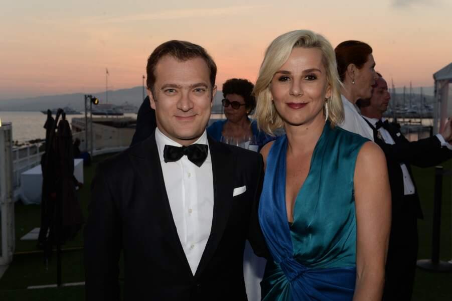 Laurence Ferrari et Renaud Capuçon à la soirée de la Fondation Positive Planet  (2017)