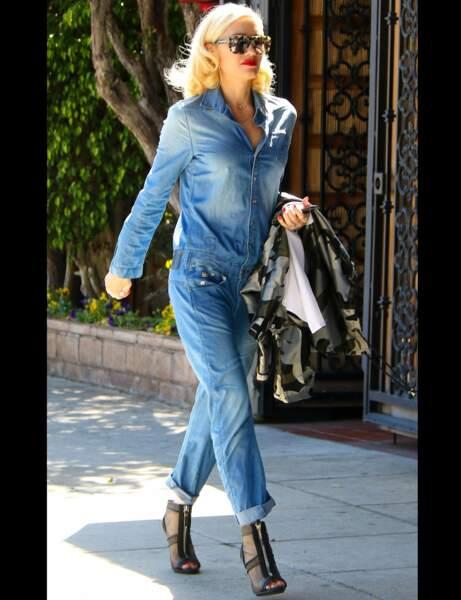 Gwen Stefani et sa combi