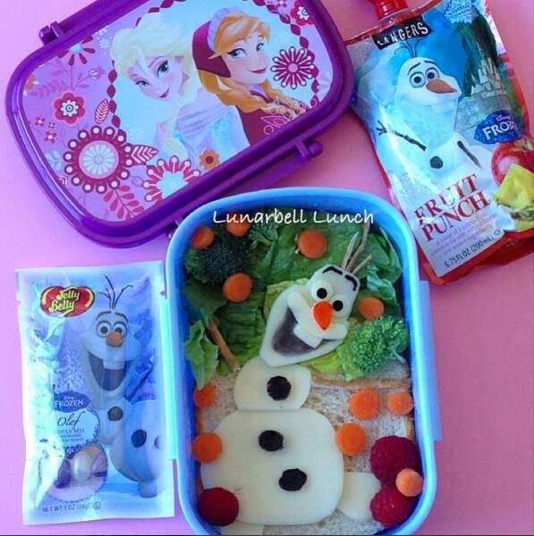 Olaf s'invite dans votre lunchbox