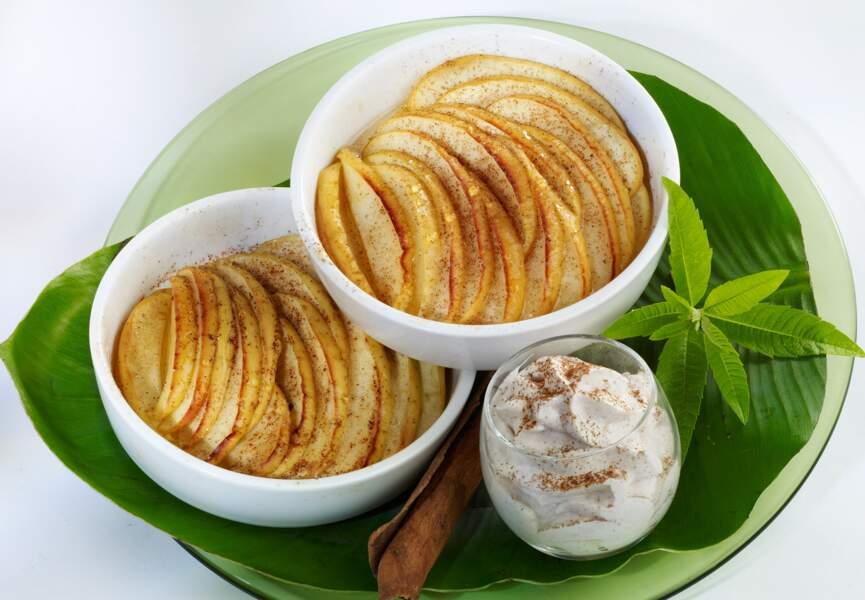 Le tian pommes cannelle