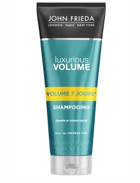 Le shampooing Luxurious Volume John Frieda
