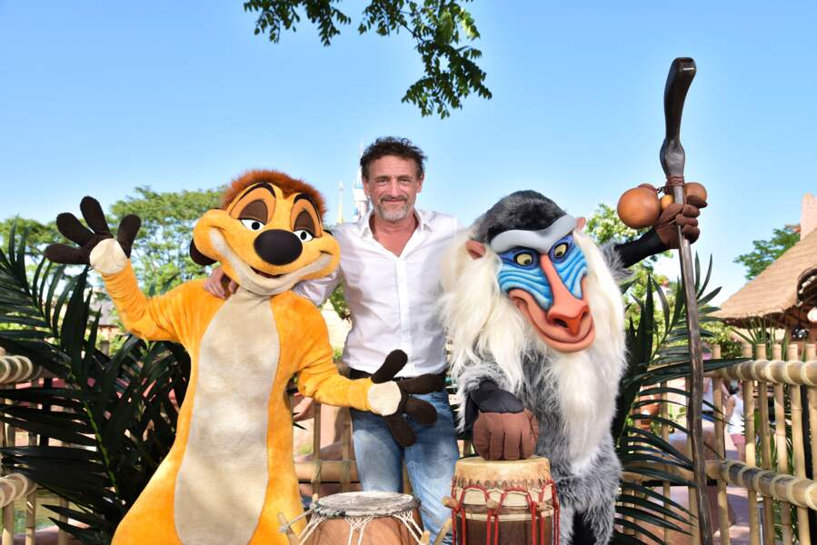 Jean-Paul Rouve fait honneur à la sortie du nouveau film Le Roi Lion à Disneyland Paris
