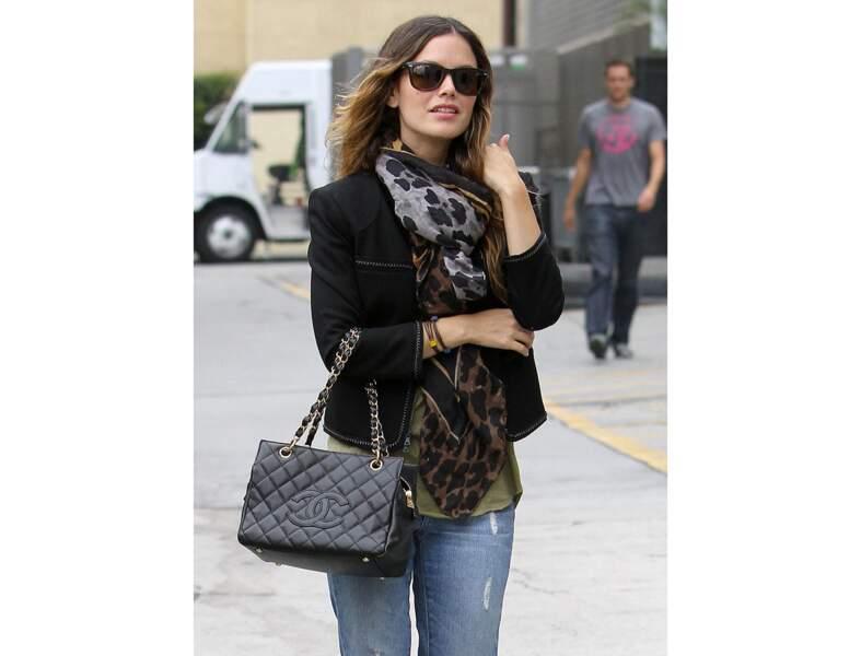 Rachel Bilson : le sac Chanel