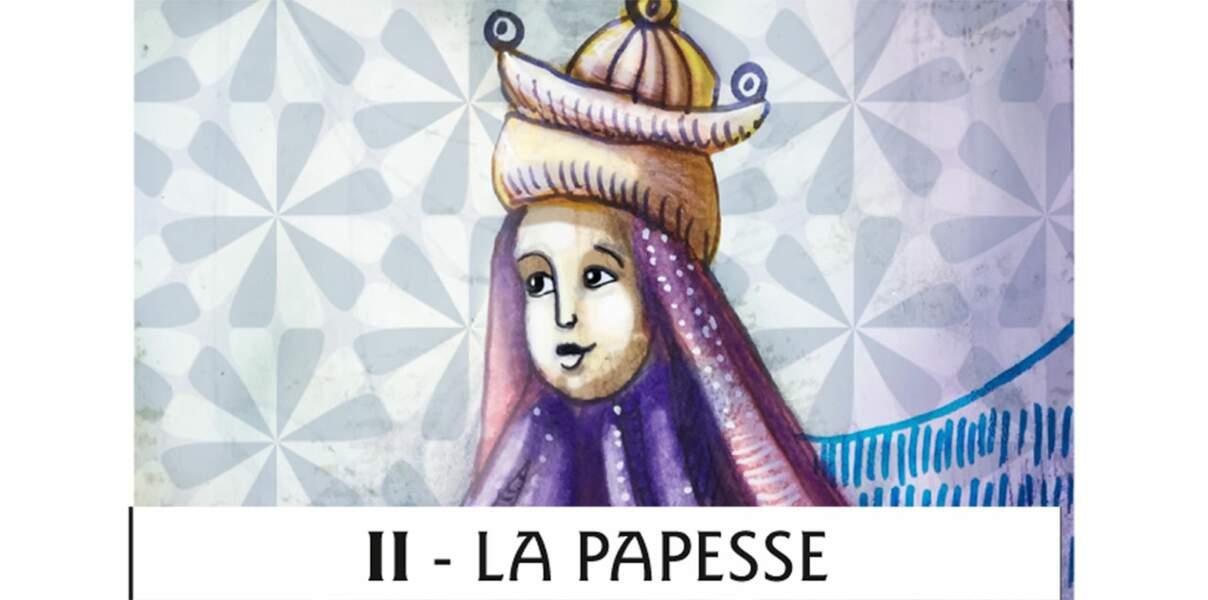 Tarot de Marseille : la Papesse