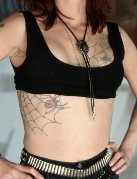 Le tatouage araignée