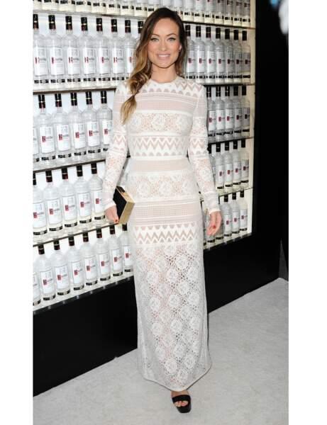 La robe en crochet d'Olivia Wilde