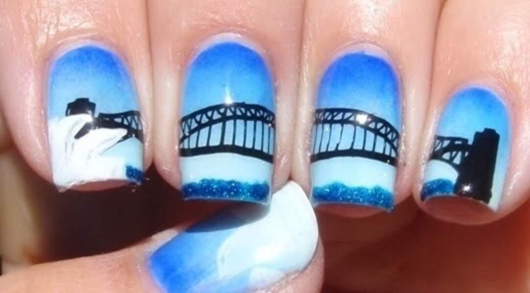 Nail Art Pont de San Francisco
