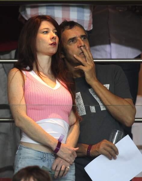 Ils ont assisté ensemble au match PSG-Lyon au Parc des Princes le 2 octobre 2011.