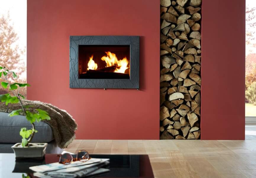 Nos poêles et radiateurs pour l'hiver : le poêle façon écran TV