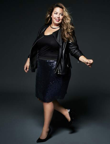 Mode grande taille : sequins
