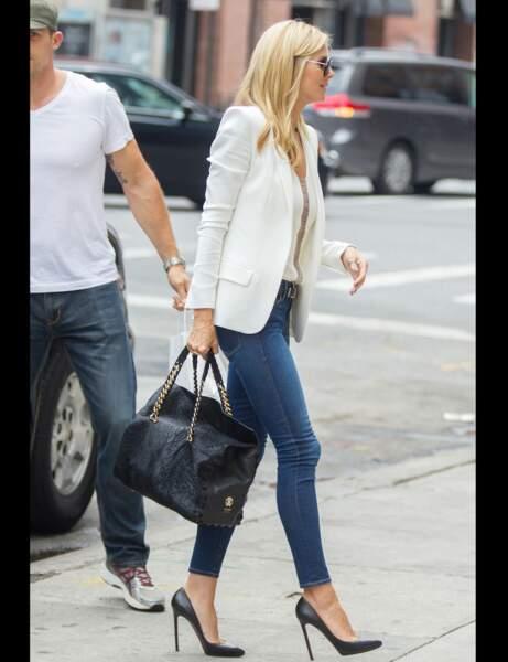 Heidi Klum et son jean chic