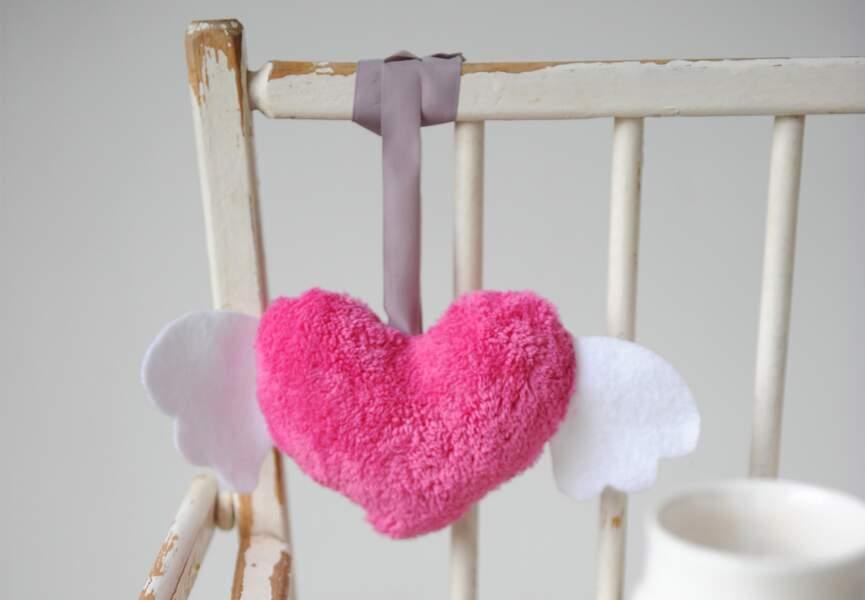 Un hochet coeur