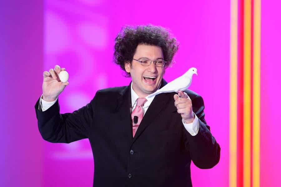 """Eric Antoine à l'enregistrement de l'émission """"Vivement Dimanche"""" à Paris. Le 15 septembre 2010"""