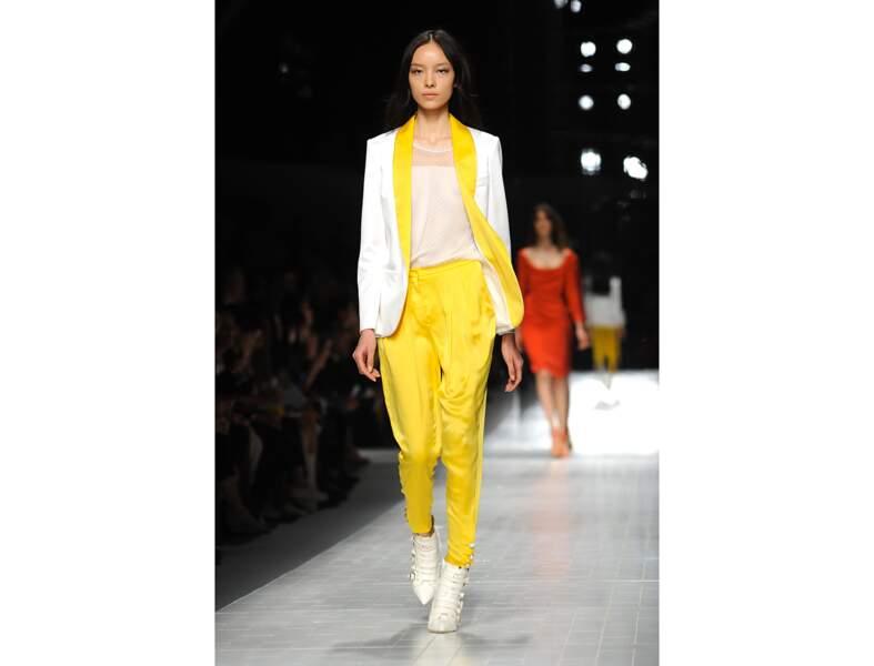 Le jaune citron sportswear