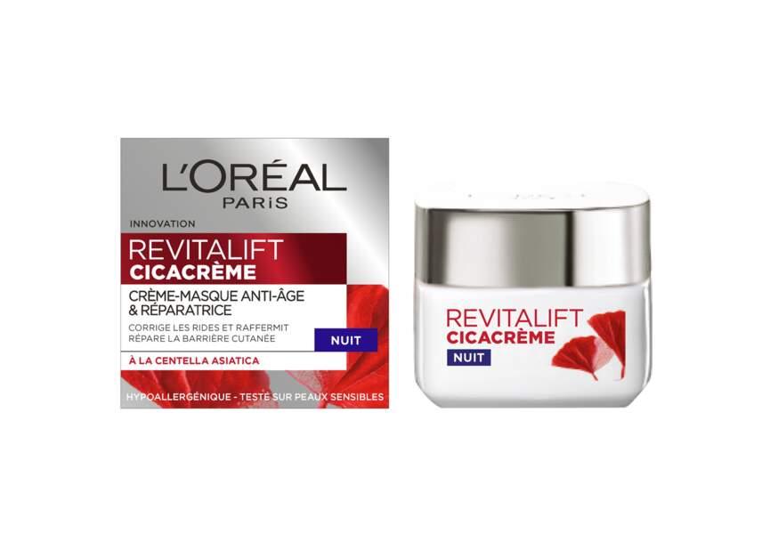 Soin nuit Revitalift Cicacrème L'Oréal Paris