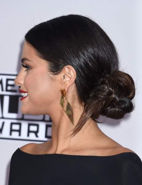 Le chignon de danseuse revisité de Selena Gomez