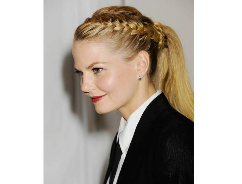 La tresse queue de cheval comme Jennifer Morrison