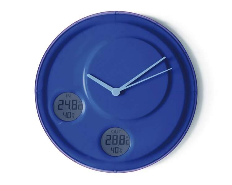 Une horloge double jeu