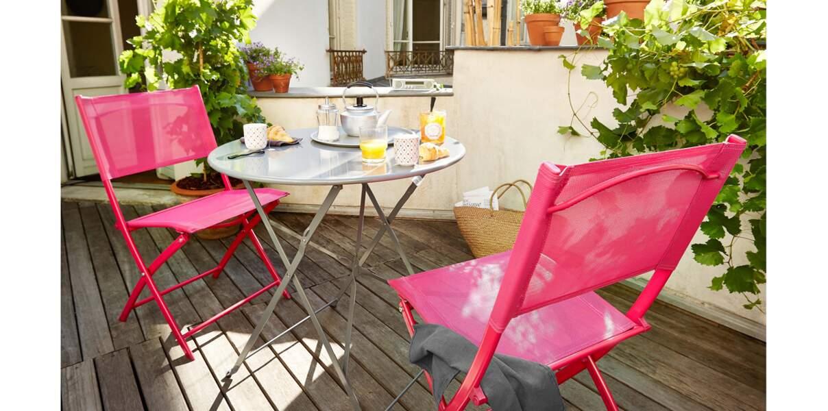 Salon de jardin design, nature ou coloré : les nouveautés ...