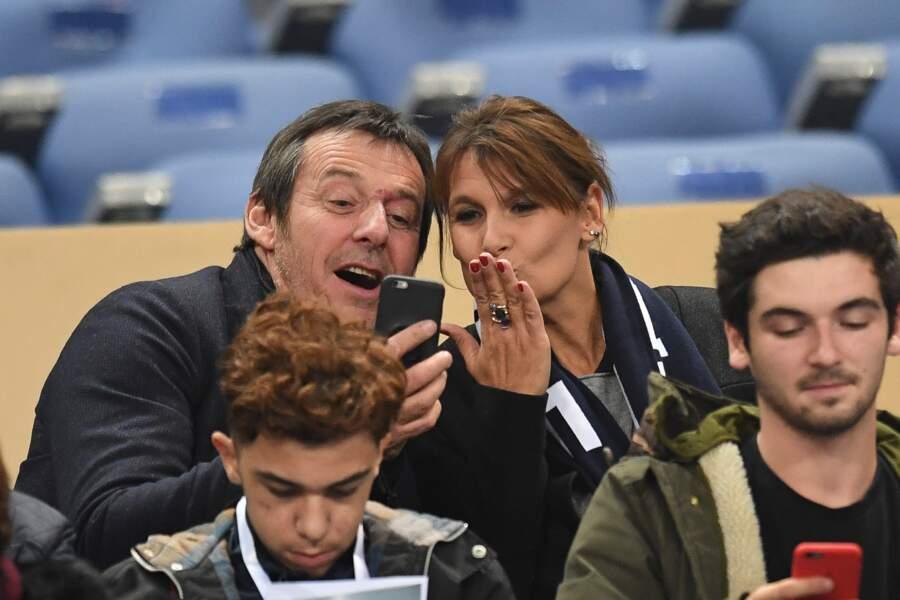 Jean-Luc et Nathalie Reichmann en 2016 pour le match France/Bulgarie
