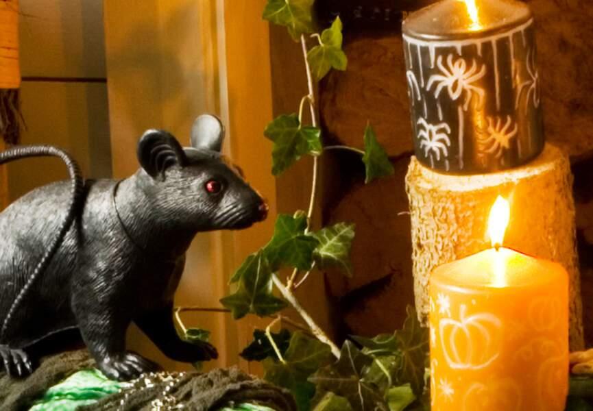Des bougies gravées