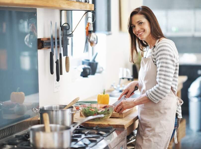 Cuisiner maison, ça aide