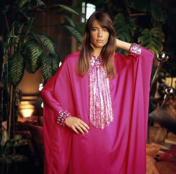 Françoise Hardy lors d'une séance photo au début des années 60.