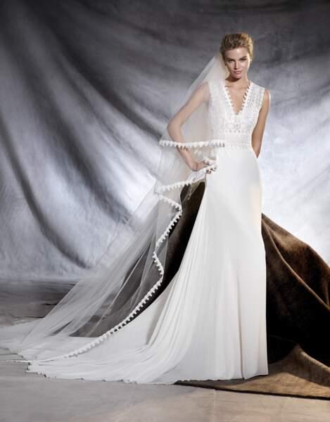 Robe de mariée Pronovias : Orobia