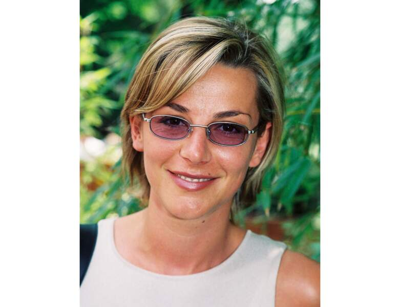En 2002, Laurence Ferrari à 36 ans