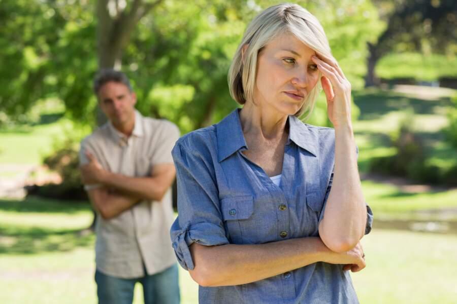 La ménopause entraîne inévitablement des troubles de l'humeur