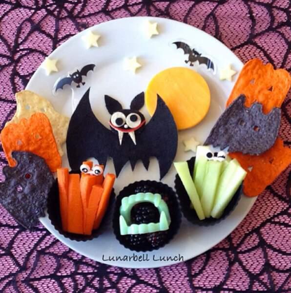 Halloween dans l'assiette