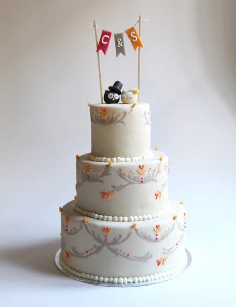 Les Plus Beaux Wedding Cakes Femme Actuelle