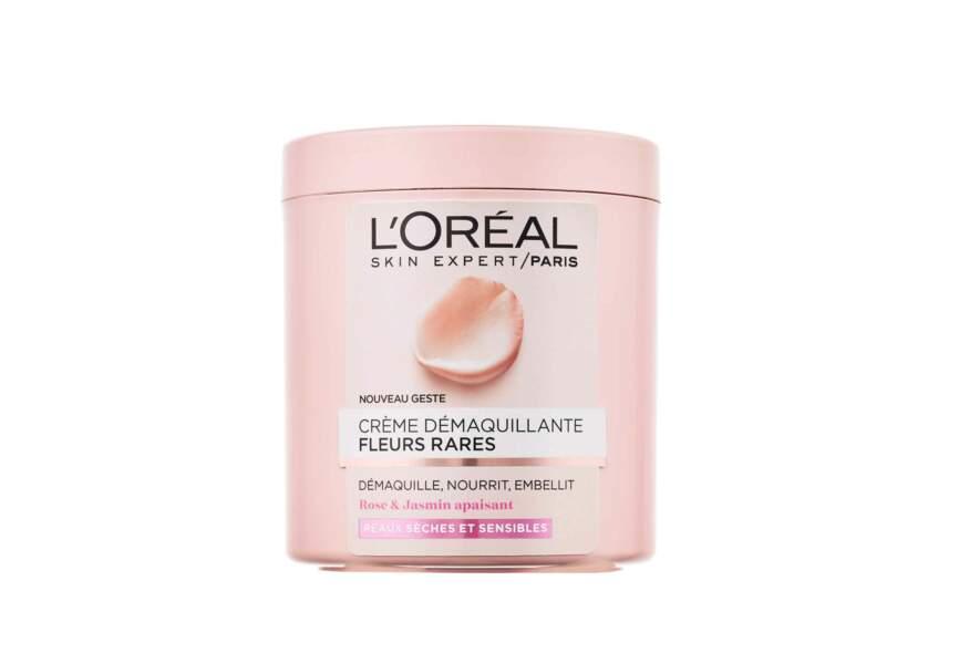 La Crème démaquillante aux Fleurs Rares L'Oréal Paris