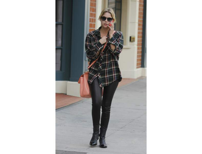 Le look casual d'Ashley Benson