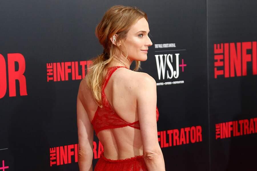 La queue-de-cheval romantique de Diane Kruger