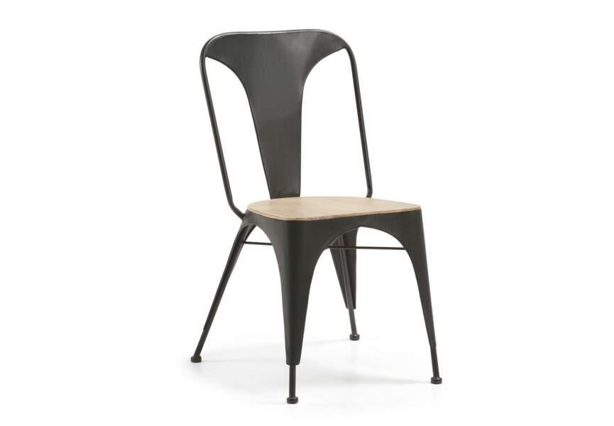 Déco industrielle : la chaise en métal