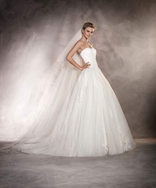 Robe de mariée Pronovias : Alcazar