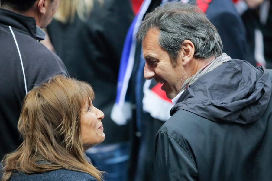 Jean-Luc Reichmann et sa femme Nathalie en 2014