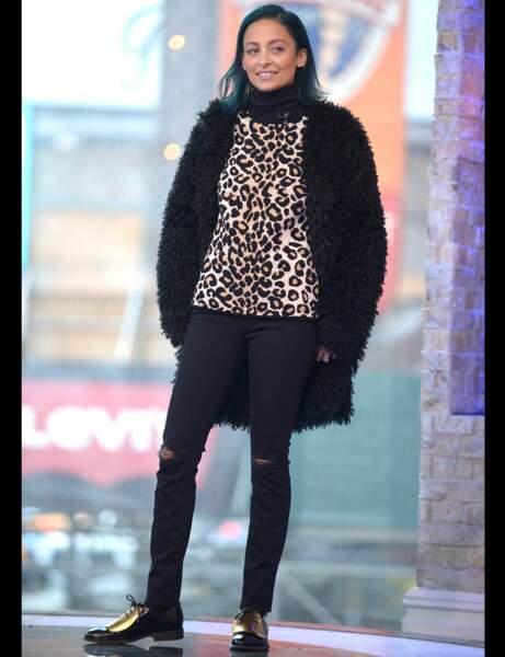 Nicole Ritchie et son jean noir