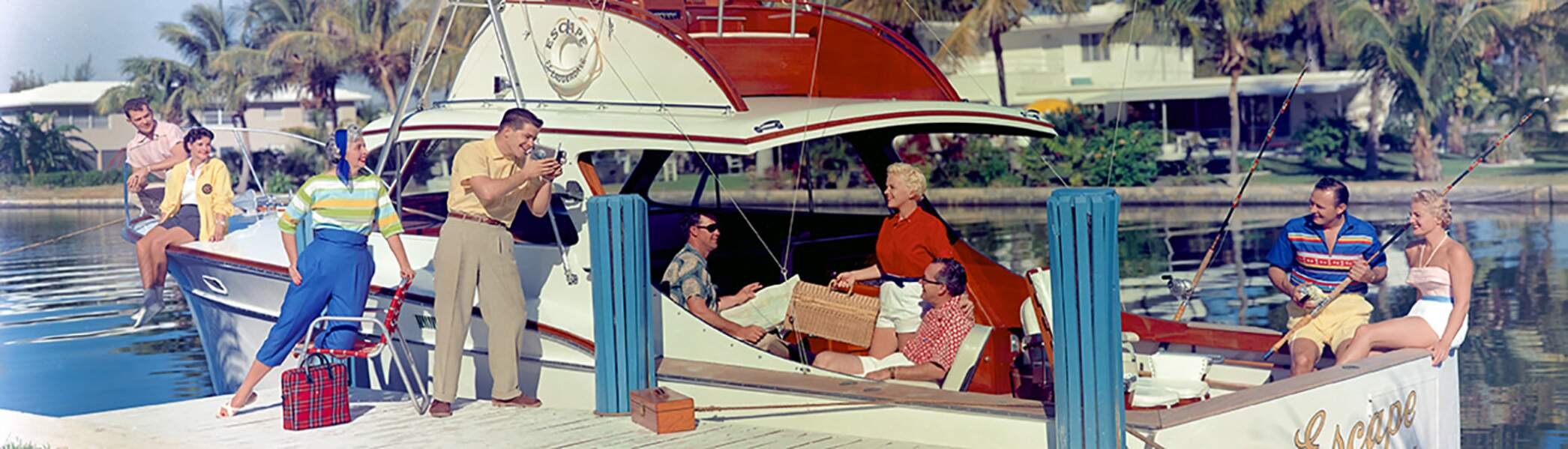 Boat Party Florida, 1957